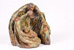 Escultura nacimiento cueva