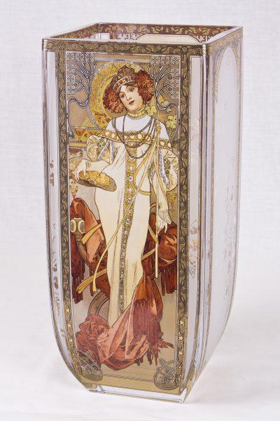 Jarrón Primavera-Otoño 1900 (Alphonse Mucha)