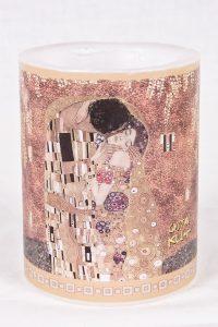 Vela El Beso (Gustav Klimt)