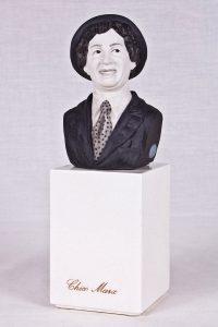 Escultura Chico Marx (busto personaje cine)