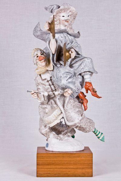 Escultura Carnaval de brujas