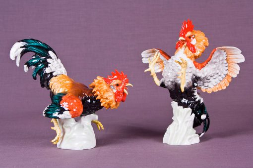 Escultura Gallos